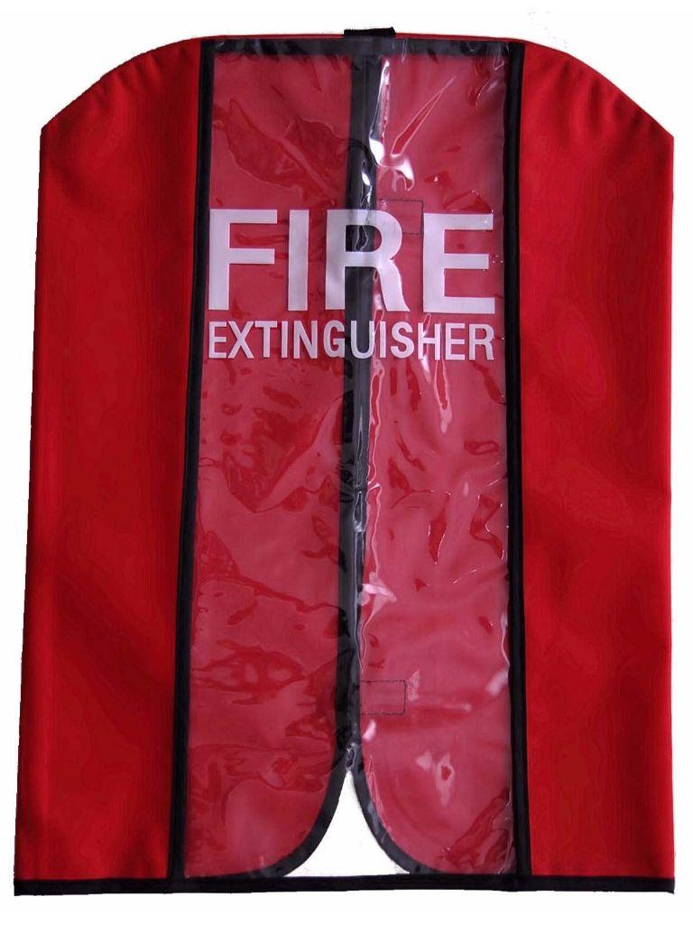Fire Extinguisher Clear Plastic Cover Large Firex