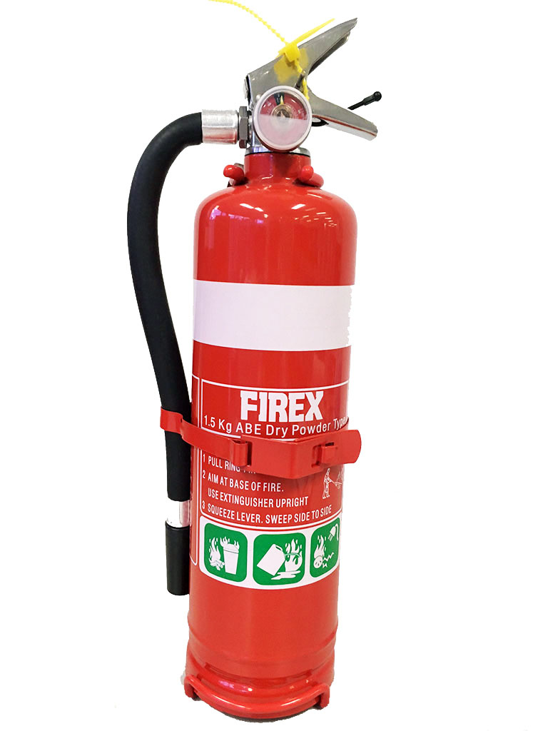 1.5KG AB:E Dry Powder Fire Extinguisher