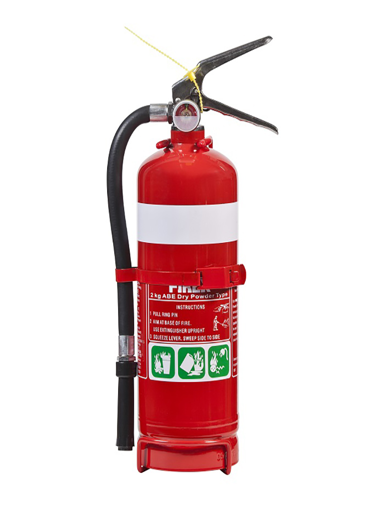 2.0KG AB:E Dry Powder Fire Extinguisher