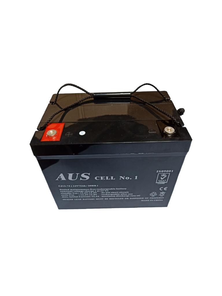 75AH 12VDC Lead Acid Battery