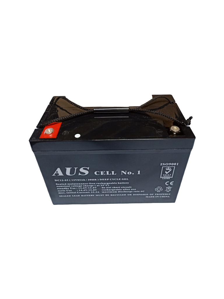 85Ah AGM 12VDC Deep Cycle Lead Acid Battery