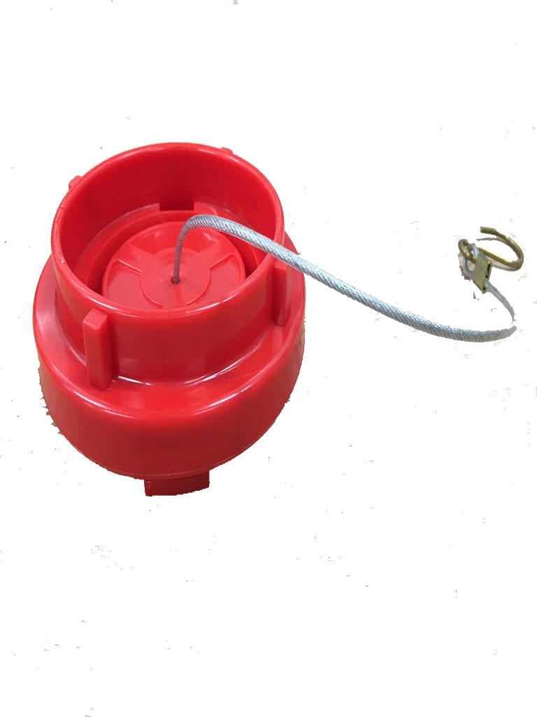Storz 65mm Blanking Cap Plastic (Red)