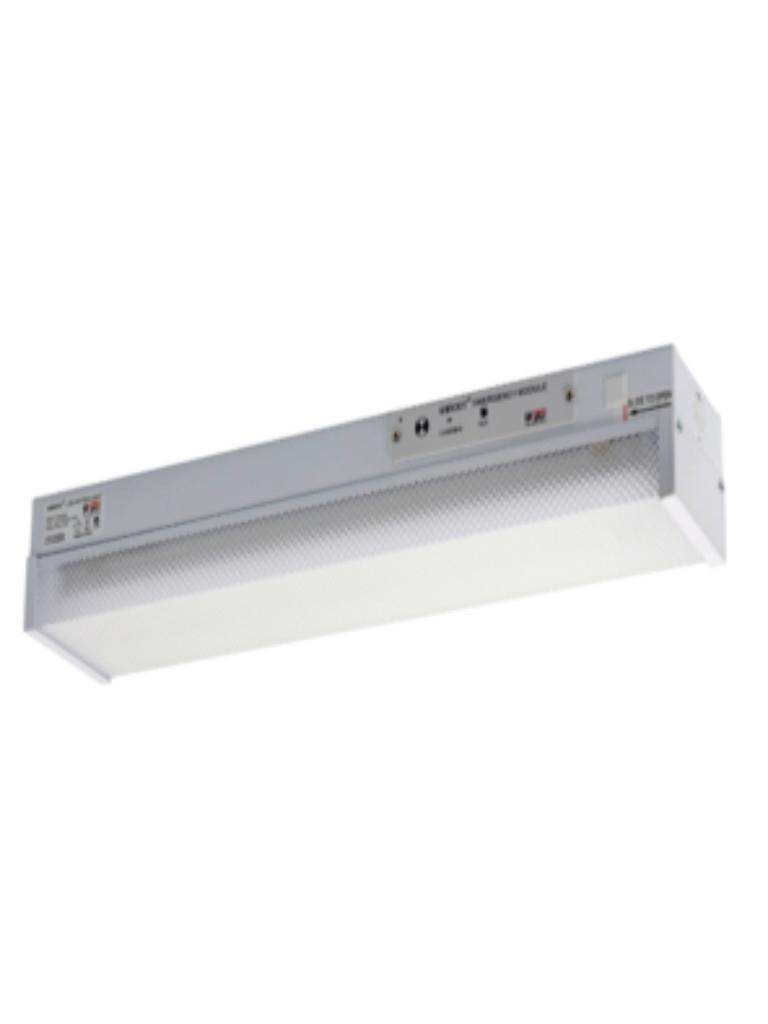 2 Foot 1x9W LED EM Batten Light Diffused 5000k