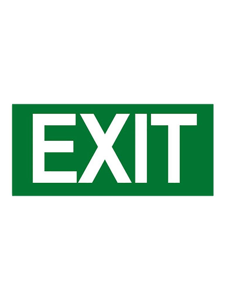 Exit Sign - Exit - Reflective Metal
