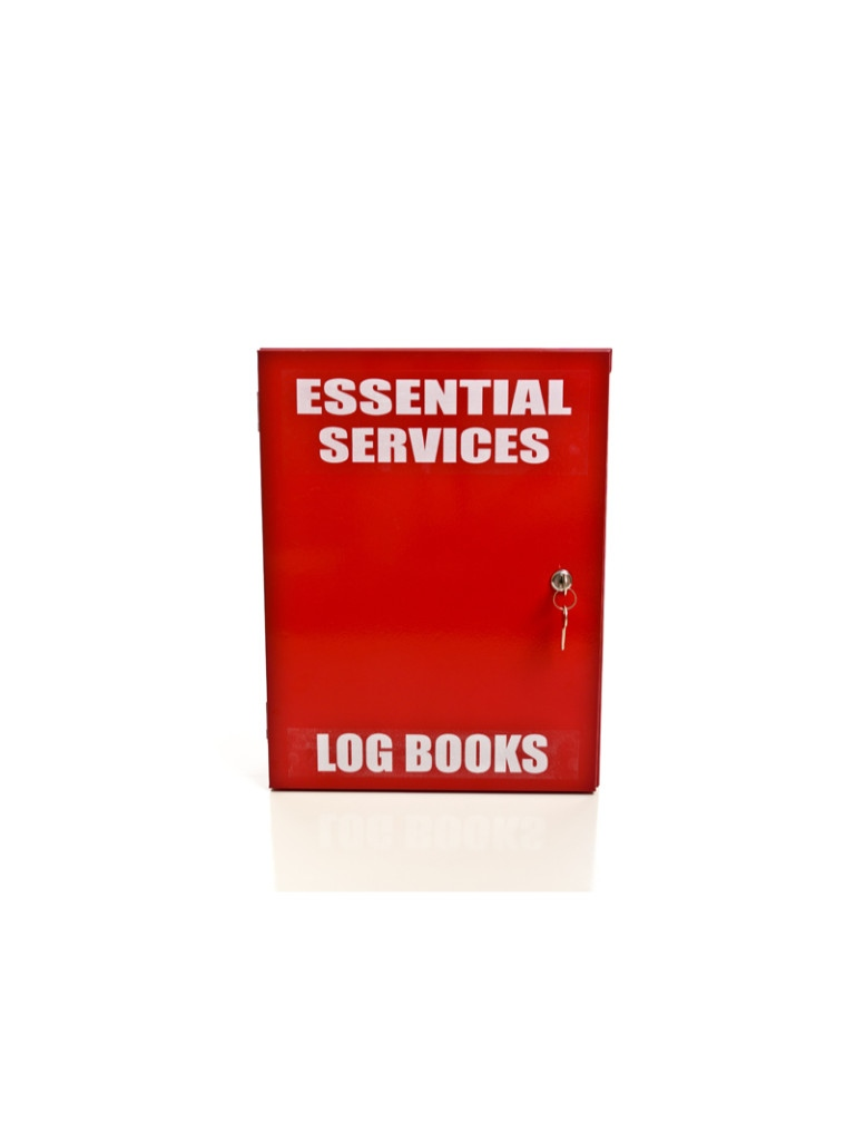Essential Services Log Books - Metal