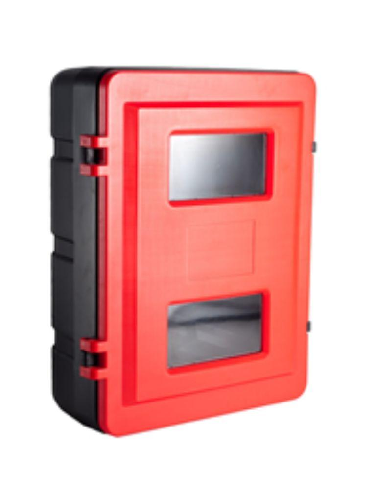Fire Extinguisher Cabinet Plastic Double - 9.0kg
