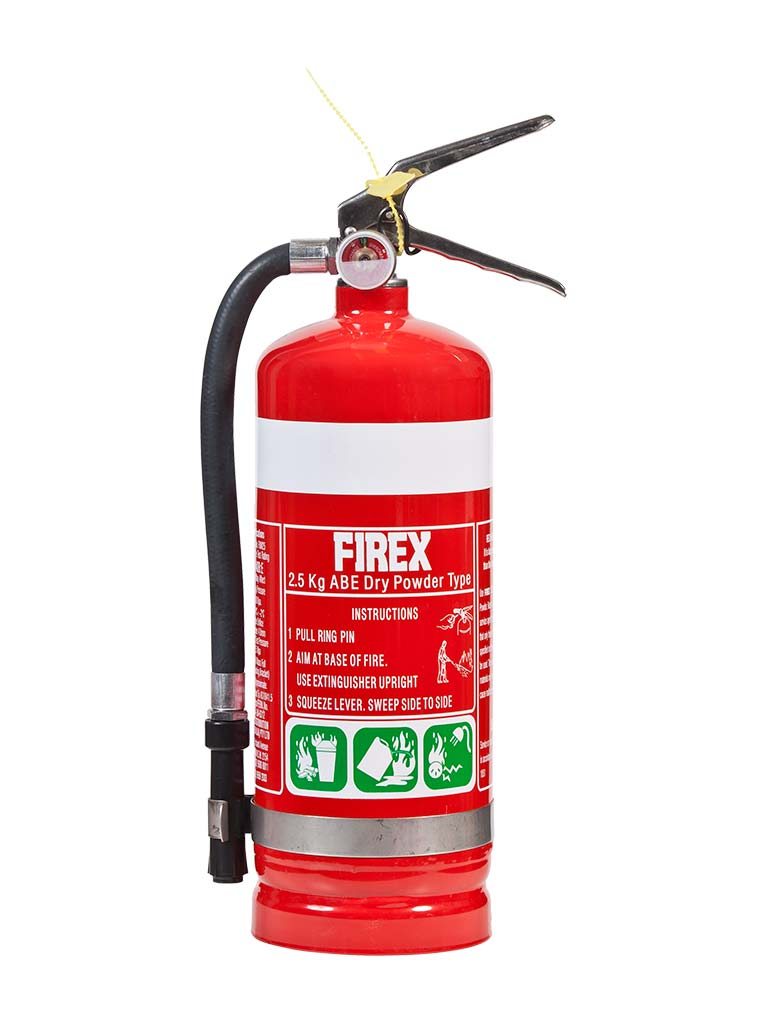 2.5KG AB:E Dry Powder Fire Extinguisher