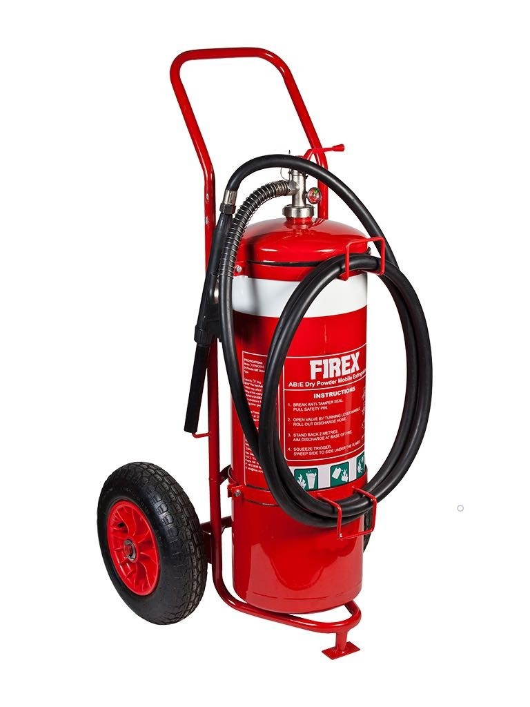 50KG ABE Dry Powder Mobile Extinguisher