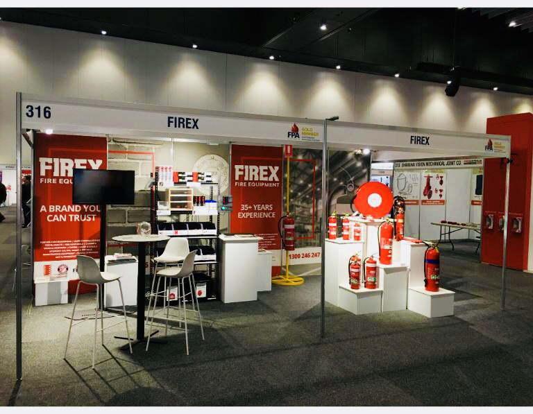 Firex recently exhibited at The Fire Australia tradeshow in Melbourne.