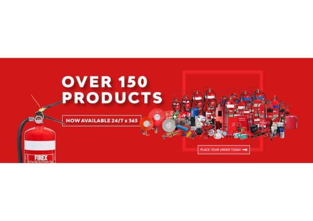 Firex Over 150 Products Now Available Mobile