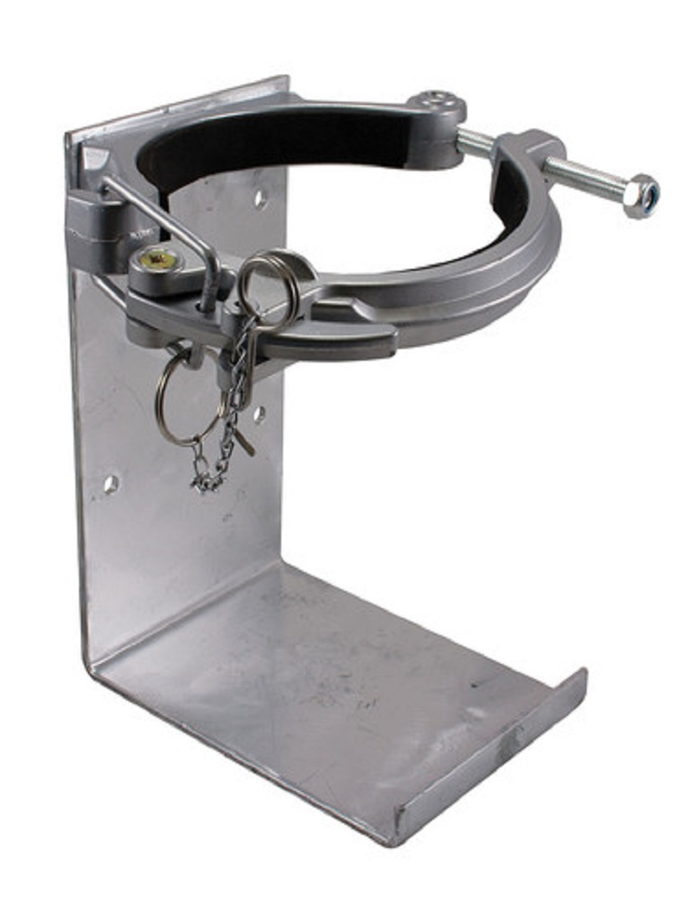 Heavy Duty Vehicle Bracket Cannon Style (Galv.) - 9.0kg