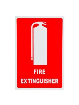 Location Sign - Fire Extinguisher - Vehicle Sticker