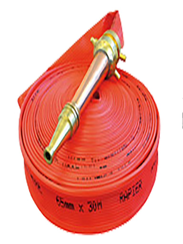 Layflat Hose - Class H Extruded Rubber 'Abrasion & UV Resistant' 38mm