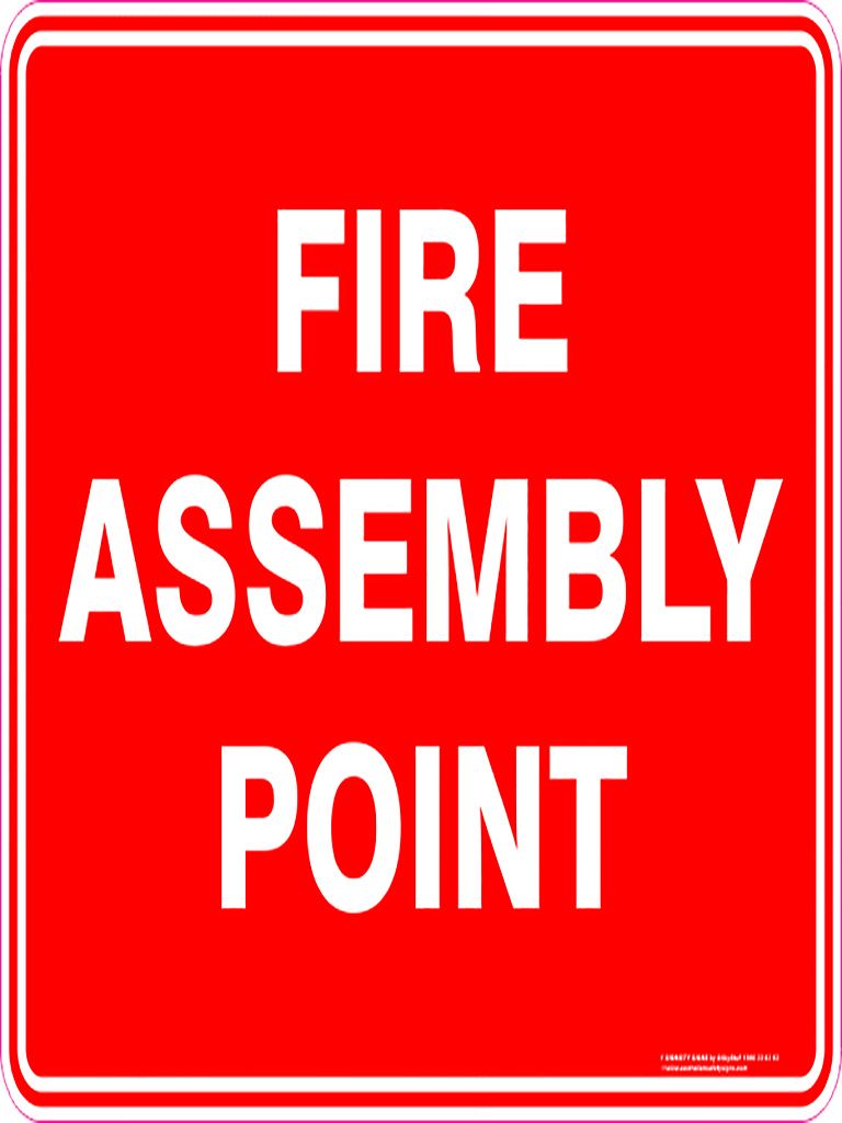 Fire Related Signs