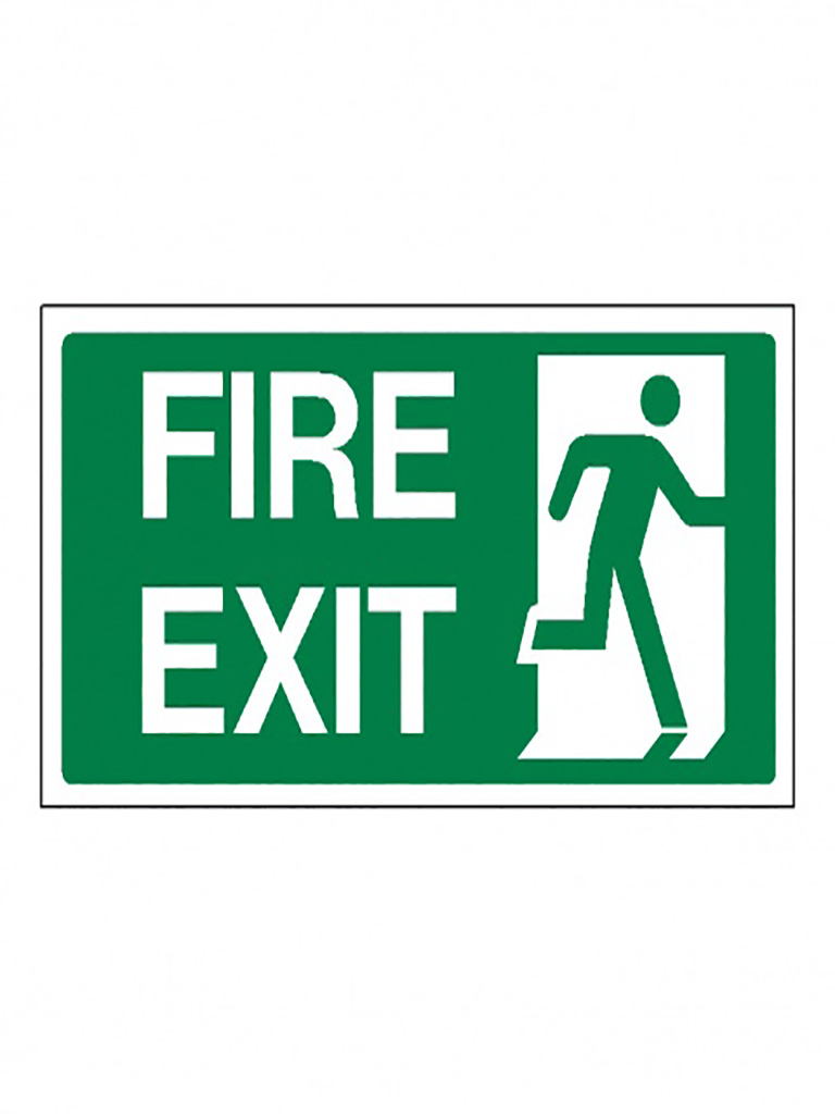 Exit Sign - Fire Exit - Luminous