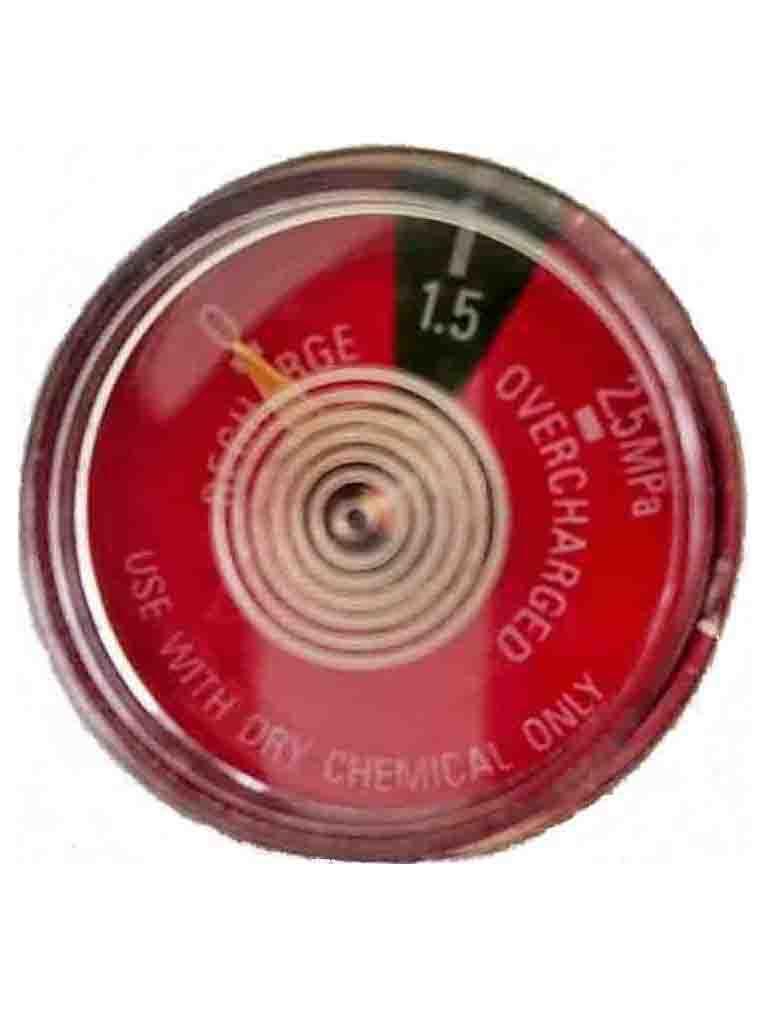 Pressure Gauge 1500Kpa - Firex DCP 4.5-9.0kg