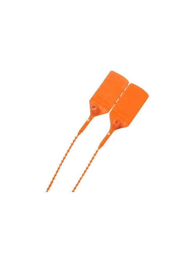 Fire Extinguisher Security Tie - Orange