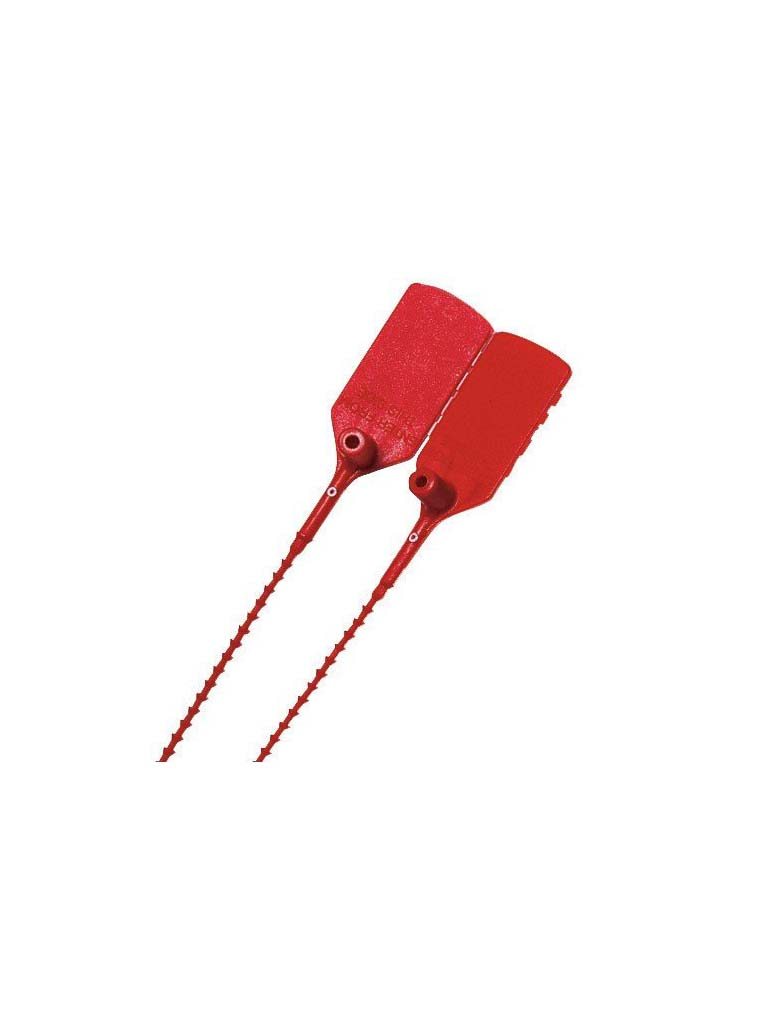 Fire Extinguisher Security Tie - Red