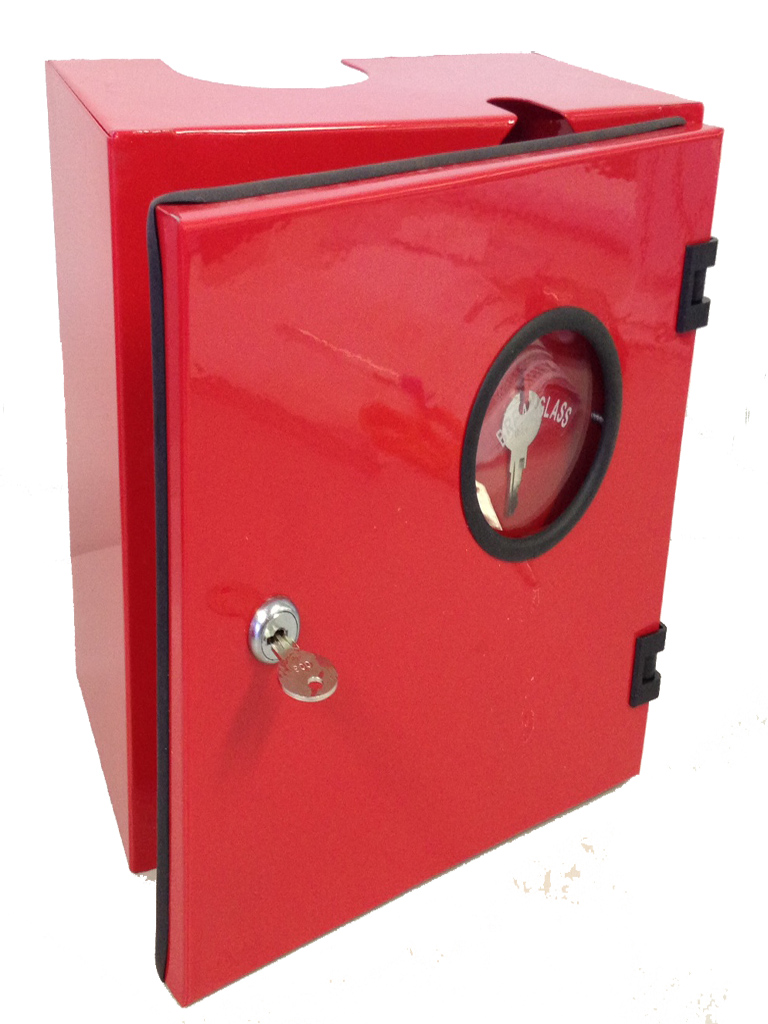 Fire Hose Reel Nozzle & Isolation Valve Lockable Box