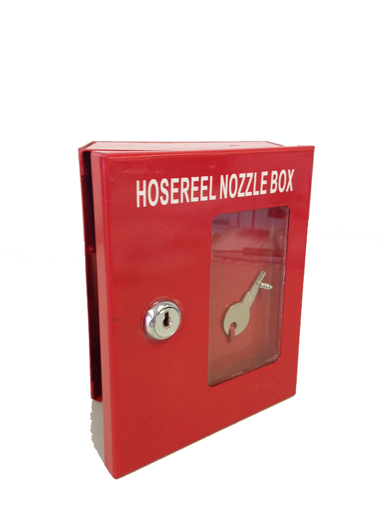 Fire Hose Reel Nozzle Lockable Box