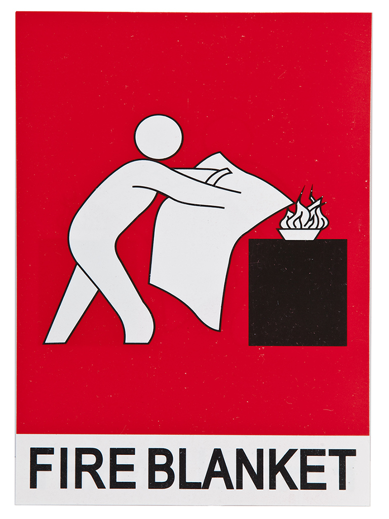 Fire Blanket Location Signs